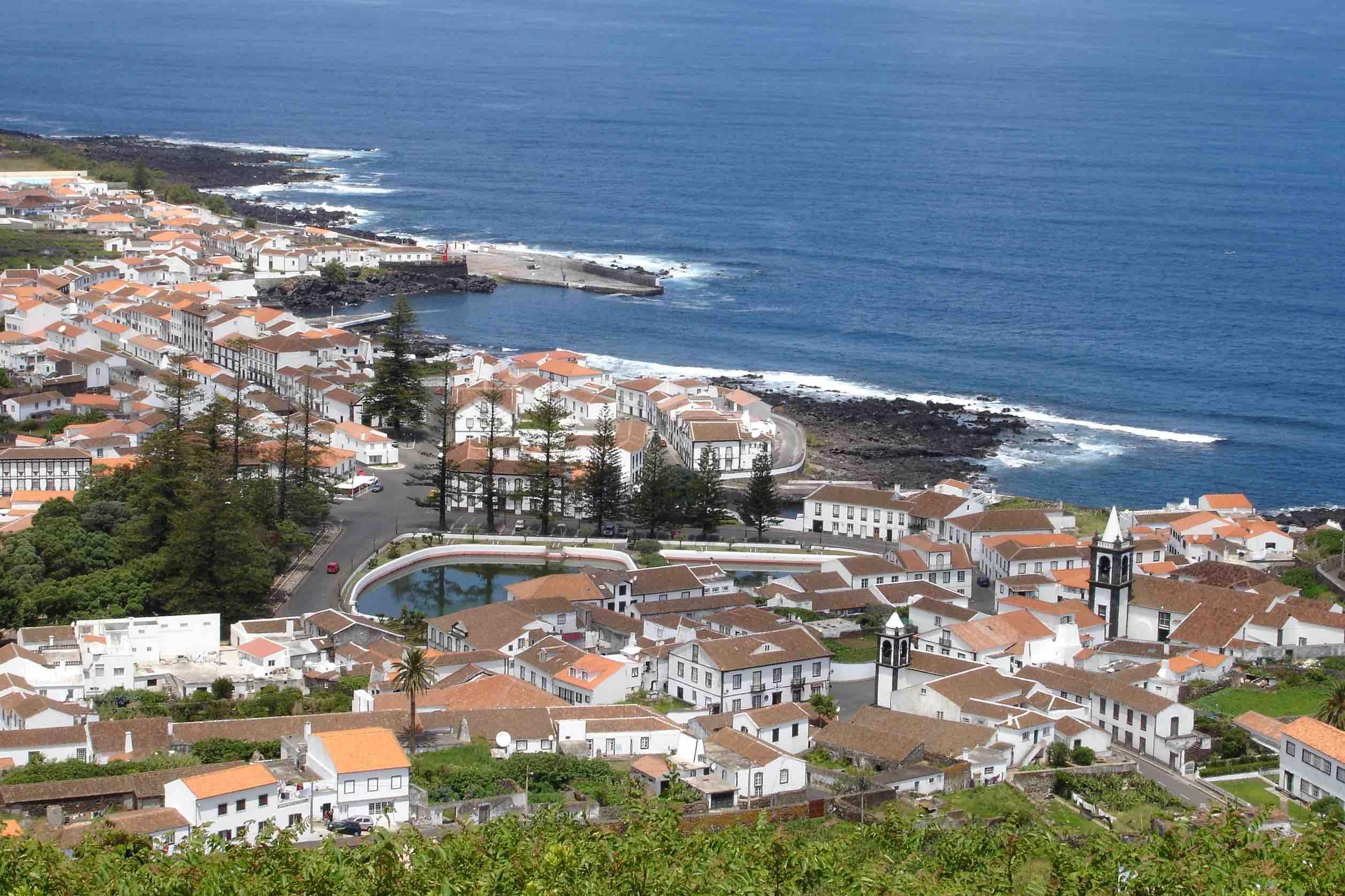 Graciosa / Azoren - Anwesen mit traumhaftem Meerblick
